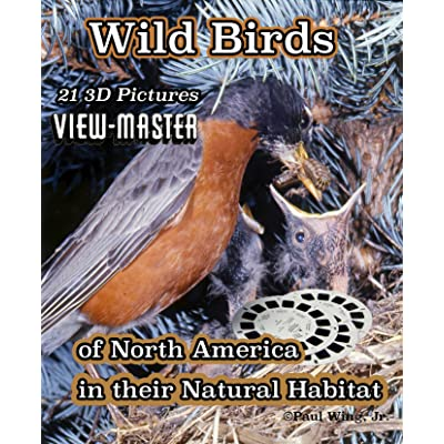 Wild Birds of North America - Classic Viewmaster 3 Reels 21 3D Images: Toys & Games