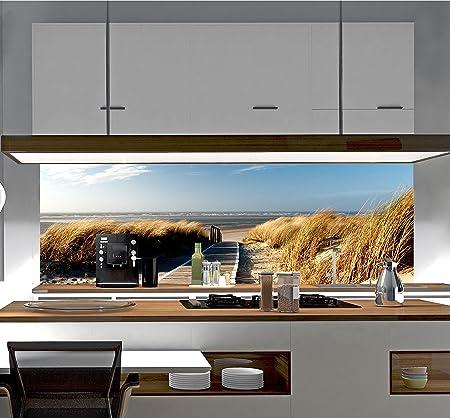 Küchenrückwand Spritzschutz Fliesenspiegel Wandbild Acrylglas SP1 ...