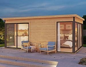 Allwood Palma 3 | 176 SQF 2 Room Studio Cabin Kit