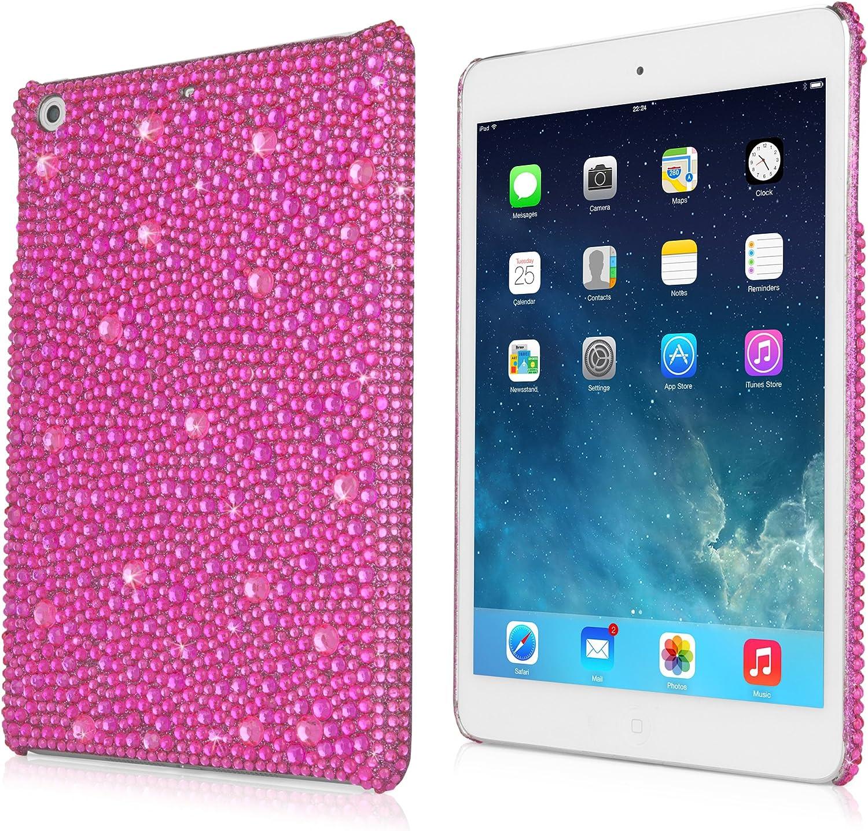 iPad Mini with Retina Display Case, BoxWave [SparkleMe Case] Sparkling Girly Cover w/Crystal Gemstones for Apple iPad Mini Retina, 3 - Pink Sapphire