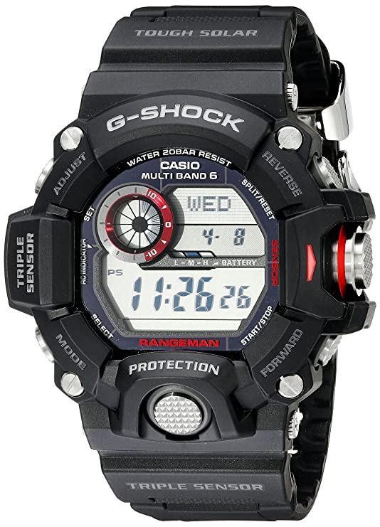 Men's Casio Range man GW9400 G-Shock Atomic Solar Watch
