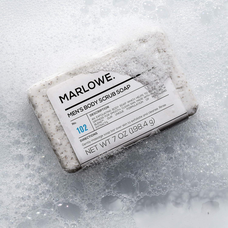 marlowe men's body scrub soap