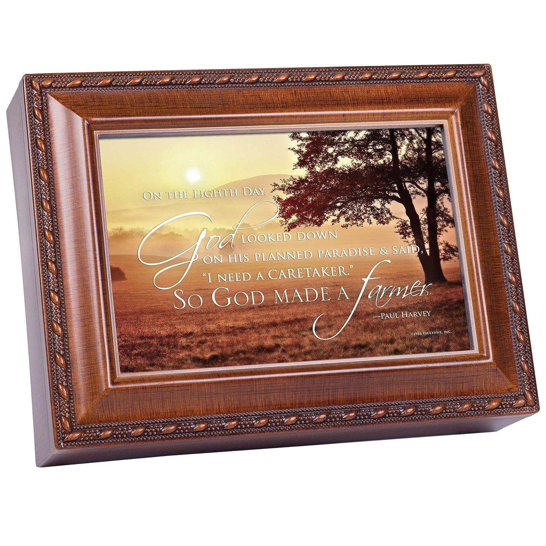 【正規品】 So God Made a So FarmerポールHarvey木製仕上げジュエリー音楽ボックスPlays Wind God Beneath My Wings Made B01M9E671Y, cawaii:89727dcd --- arcego.dominiotemporario.com