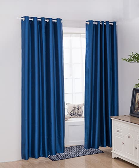 Vantextile 3 Pass Coated Thermal Insulated Bedroom Curtain Eyelet Blackout Water Resistant Curtains Block