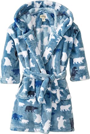 Hatley Boys Fuzzy Fleece Robe