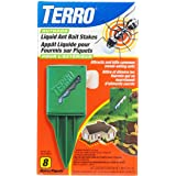 TERRO T1812CAN Outdoor Liquid Ant Bait Stakes