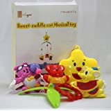 little grin sweet cuddle cot Musical Rattle 6 pc Set for Infants