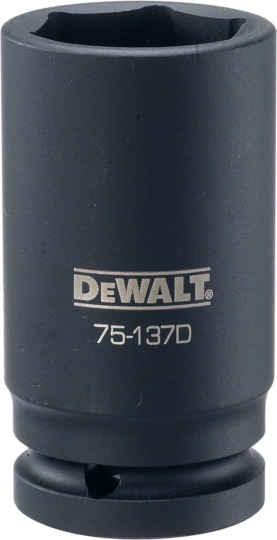 DEWALT DWMT75137OSP 3//4 Drive Deep Impact Socket 1-5//16 SAE DWMT75137B