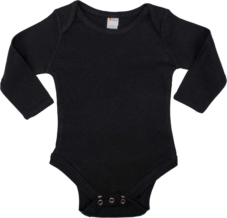 Earth Elements Baby Long Sleeve Bodysuit: Clothing
