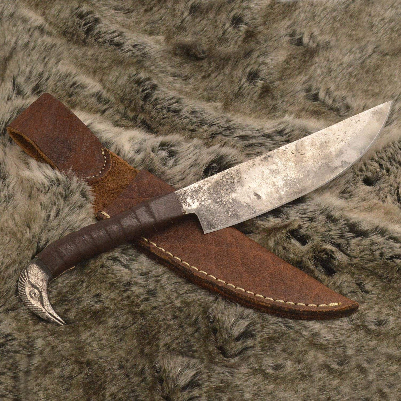 Amazon.com: NauticalMart – Cuchillo de vikingo, hecho a mano ...