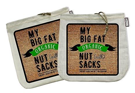 Amazon.com: My Big Fat Tuerca (Leche Orgánica) Sacos ...