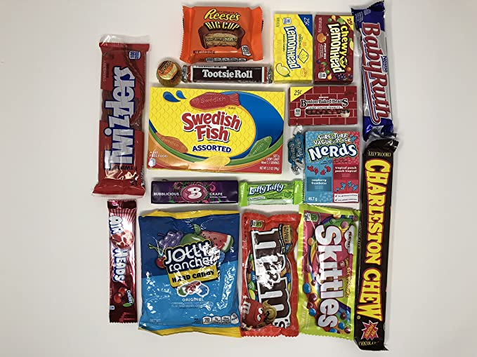 American Kurious Kandy Box | Selección de cajas de regalo American Sweets and Chocolate Bar |