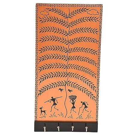 Amazon.com: aashi Enterprise a & E Warli étnico pintado ...