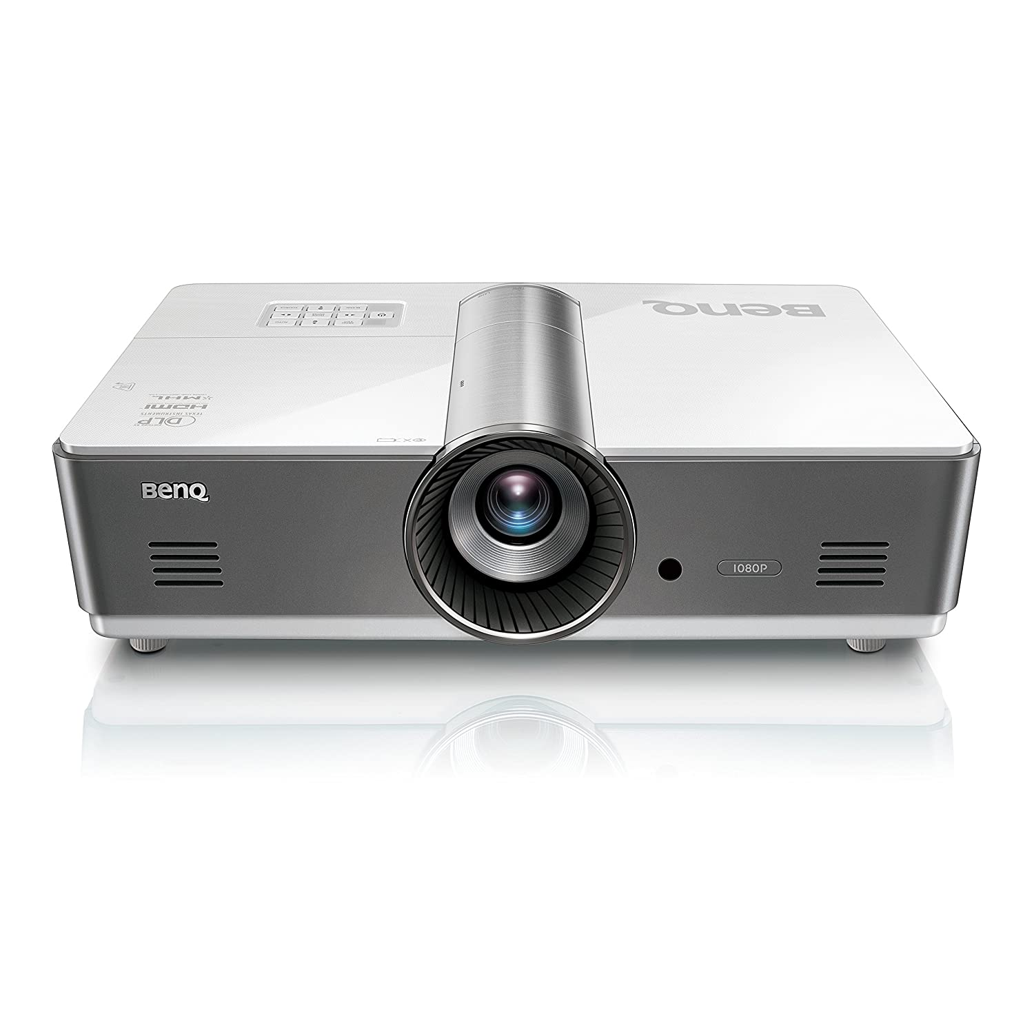 BenQ MH760 1080P Business Monitor   5000 Lumens for Lights on Presentations    LAN Control for Network Infrastructure   Keystone for Flexible Setup