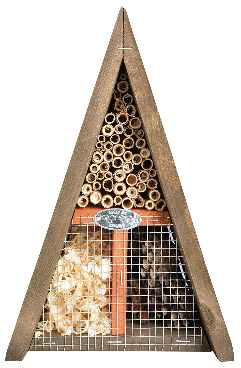 Fallen Fruits Triangle Insect Hotel Esschert Design WA36