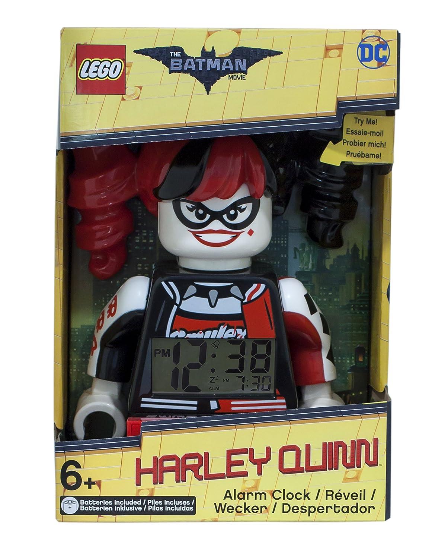 Amazon.com: The LEGO Batman Movie Alarm Clock Harley Quinn ClicTime Clocks Watches: Home & Kitchen