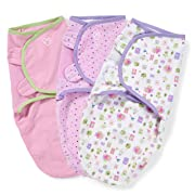 SwaddleMe Original Swaddle, Who Loves You Small (0-3 Months), Pack of 3