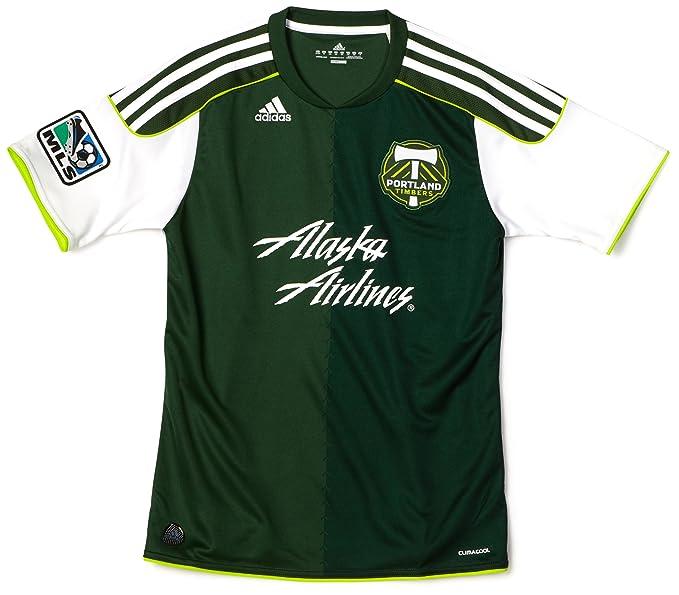 online retailer 2aba8 d0c26 Amazon.com : MLS Portland Timbers Boy's Replica Home Jersey ...