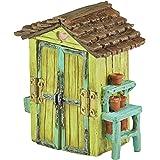 Georgetown Home & Garden Miniature Garden Shed Garden Decor