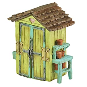 Georgetown Home & Garden Miniature Garden Shed Garden Decor