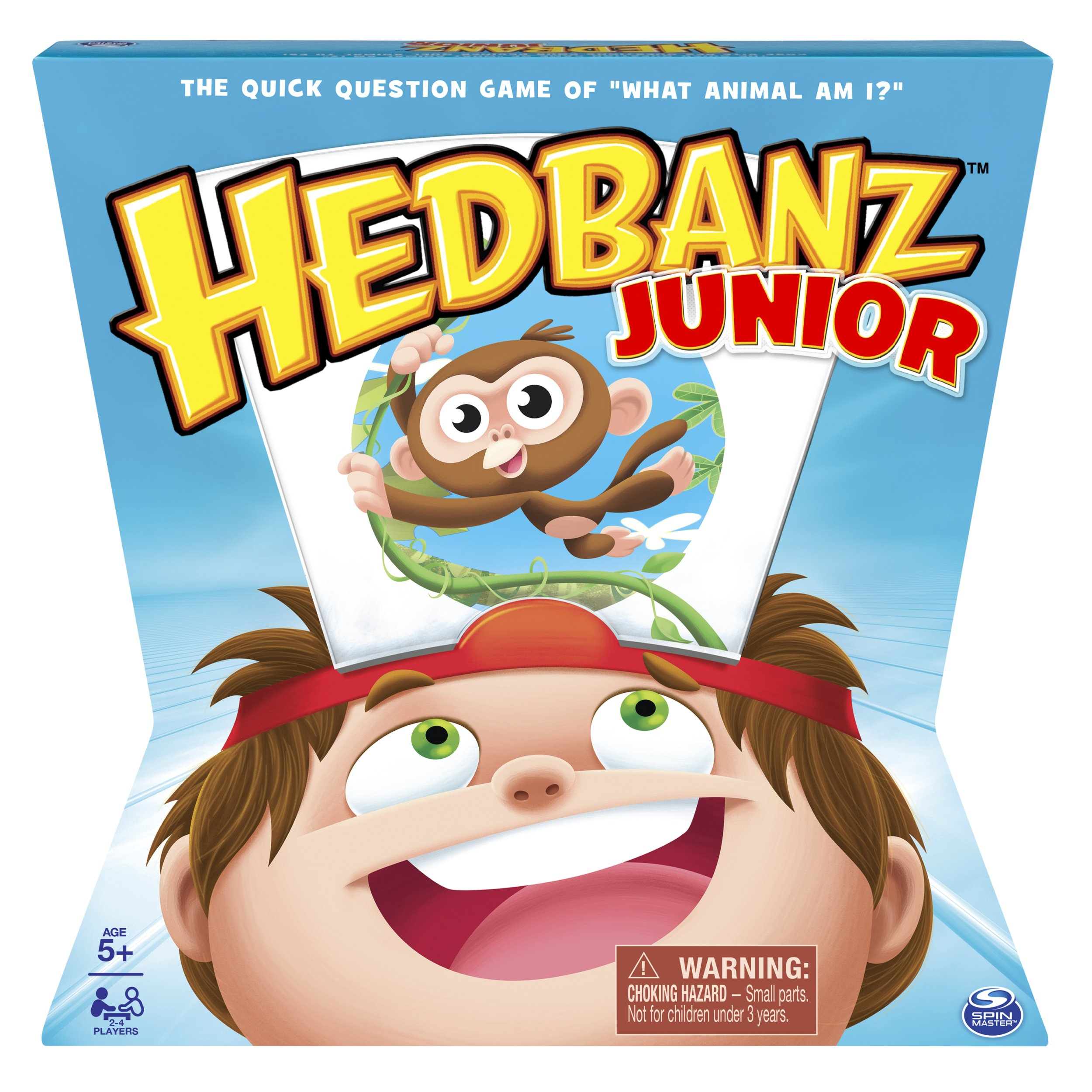 Spin Master Games HedBanz  – HedBanz Jr. Family Board Game for Kids Age 5 and up
