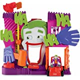 Fisher Price - DC Super Friends - Imaginext - The Joker's Fun House with Joker Mini Figure and Car