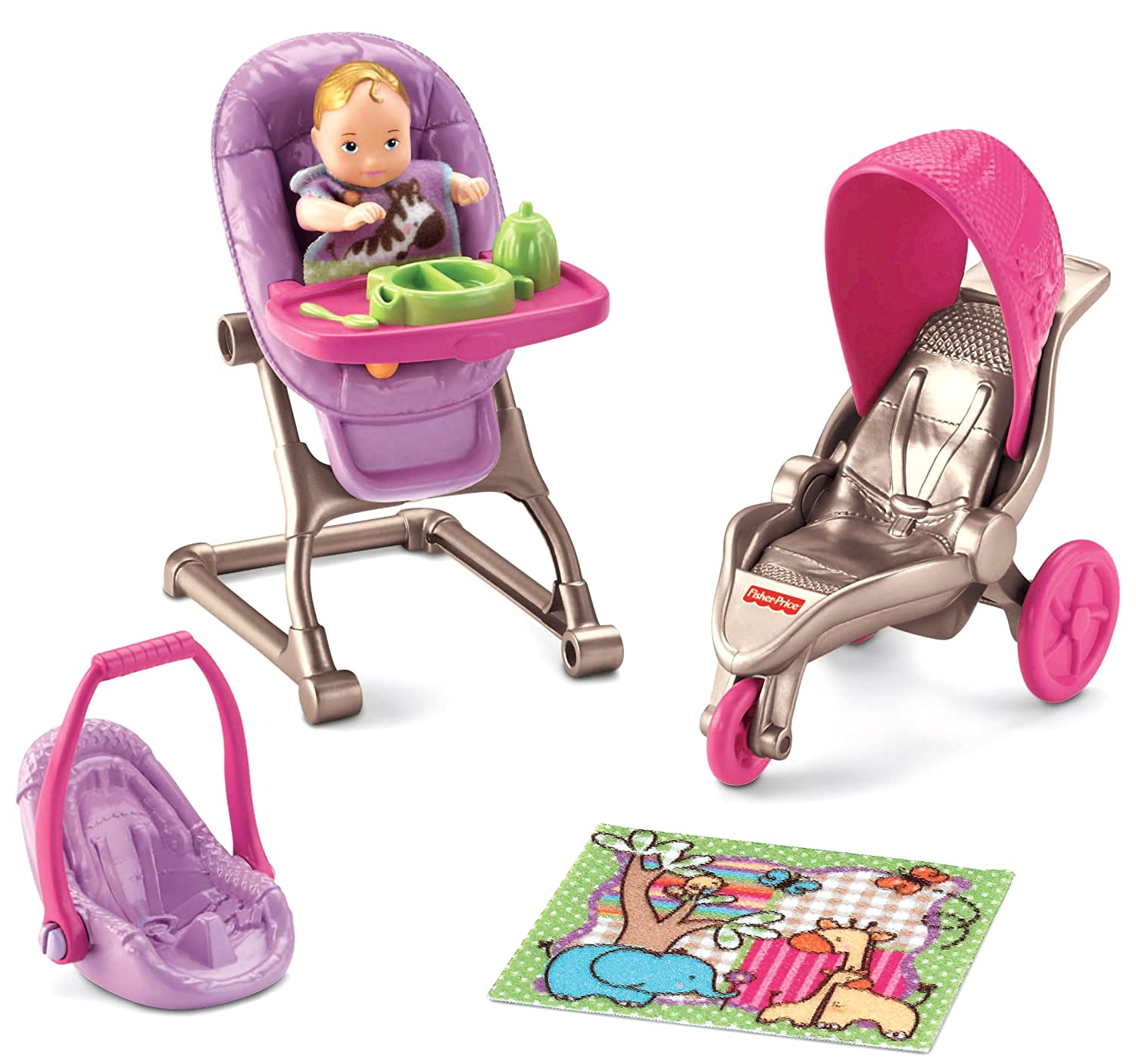 Amazon Fisher Price Loving Family Everything for Baby Toys