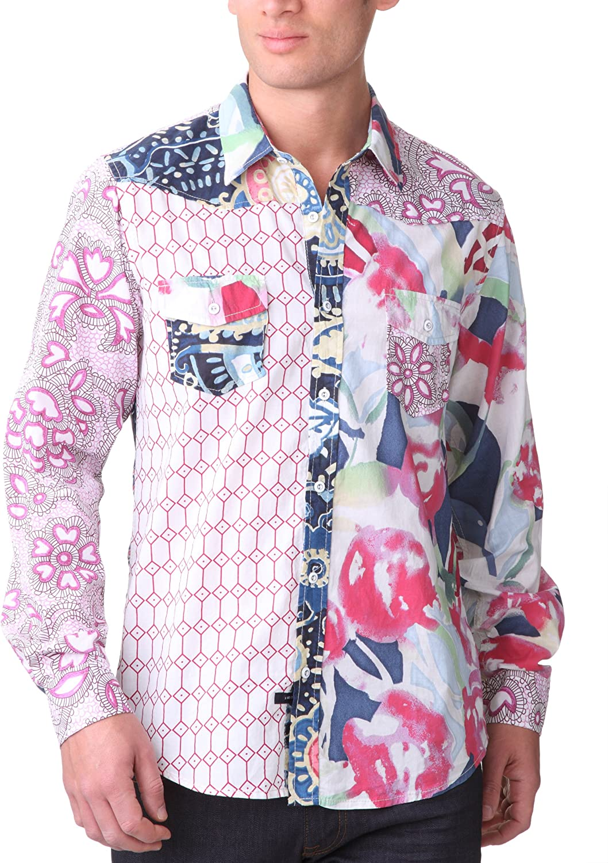 Desigual Pinava - Camiseta Regular fit de Manga Larga para ...