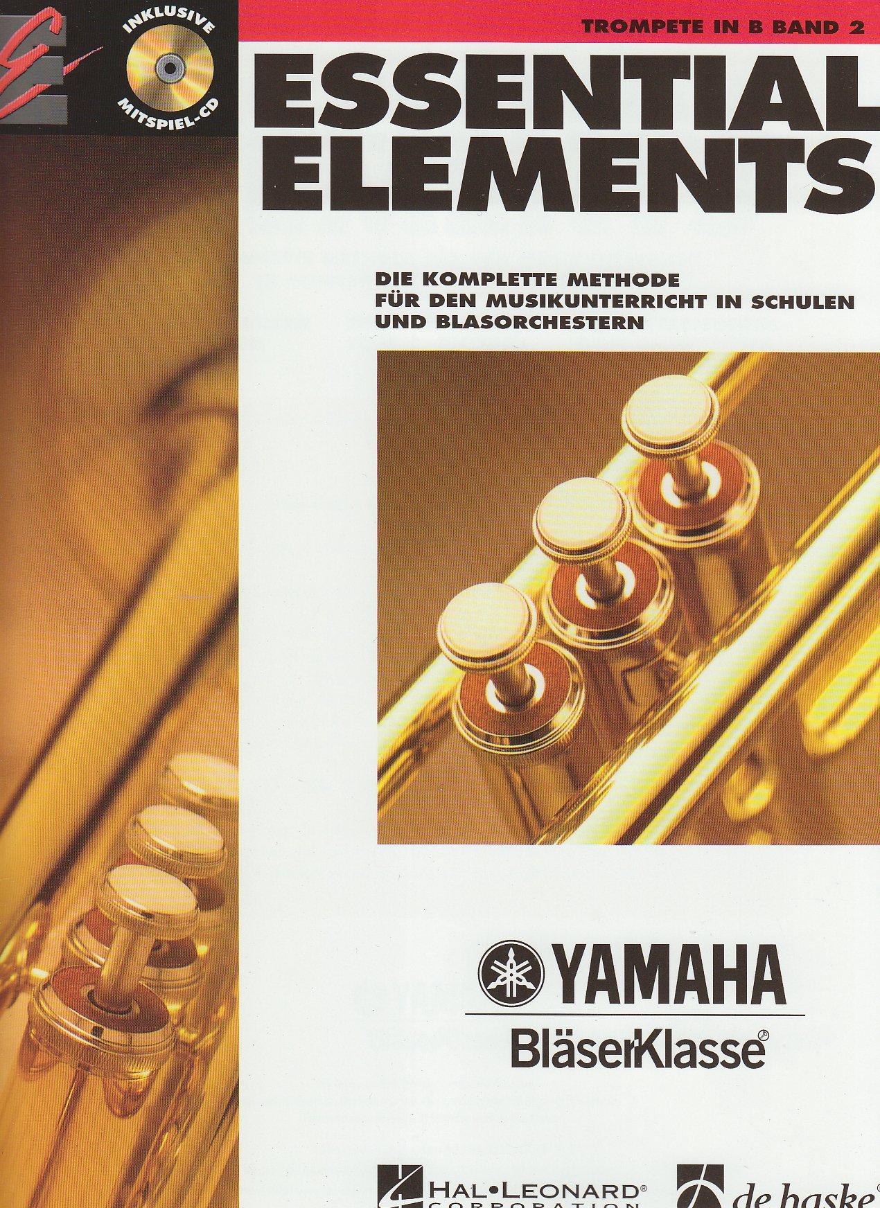 Essential Elements, für Trompete in B, Band 2, m. Audio-CD