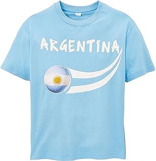 Supportershop Argentine T-shirt supporter Enfant Bleu Ciel FR   10 11 ans ( 6c185d5297dc