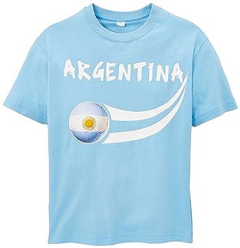 2eab88d2c4152 Supportershop Argentine T-shirt supporter Enfant Bleu Ciel FR : 10 ...