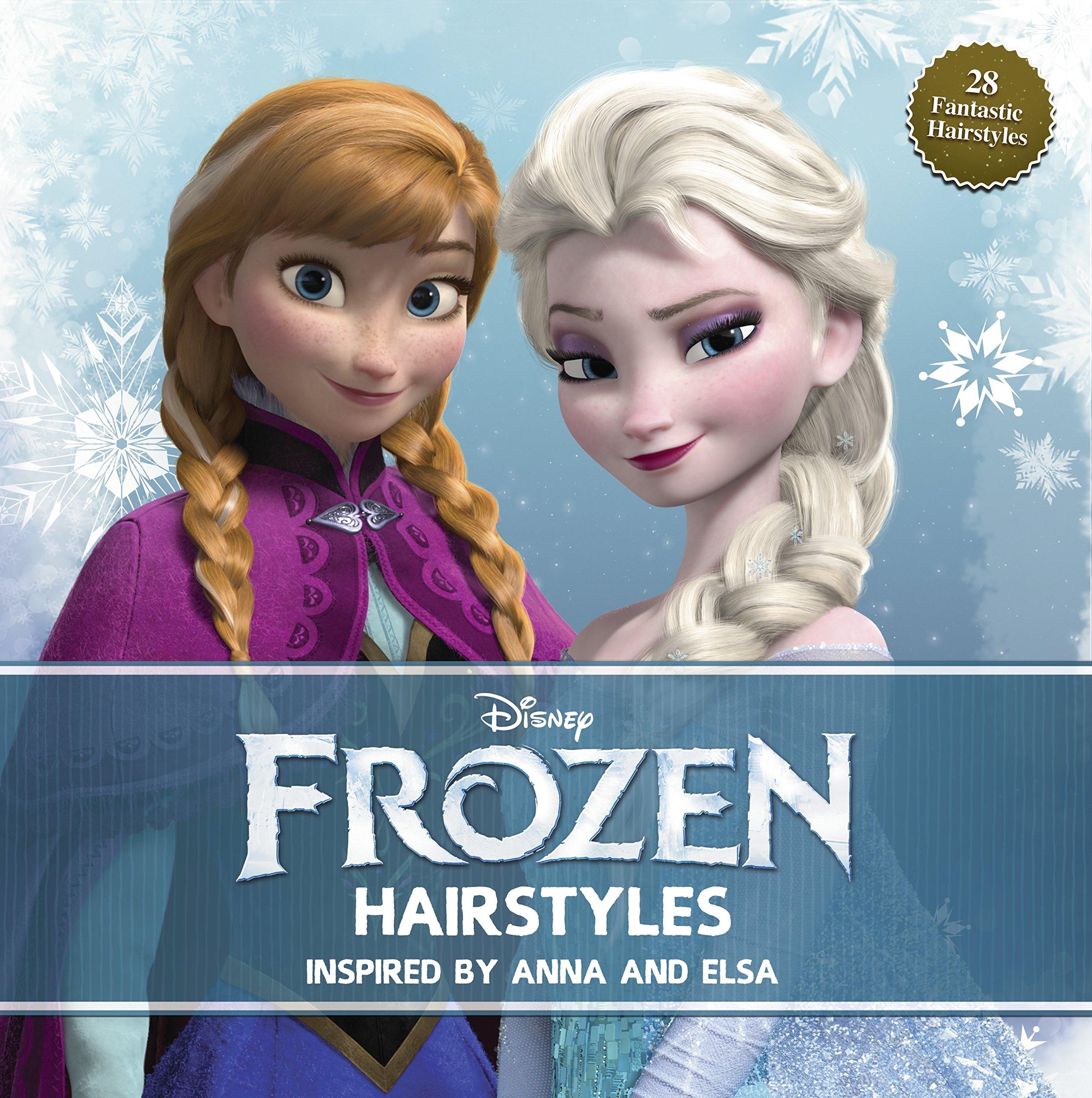 Disney Hairstyles wonderful diy disney frozen elsas hairstyle elsa braid braid hairstyles and hair dos Disney Frozen Hairstyles Inspired By Anna And Elsa Edda Usa Editorial Team 9781940787091 Amazoncom Books