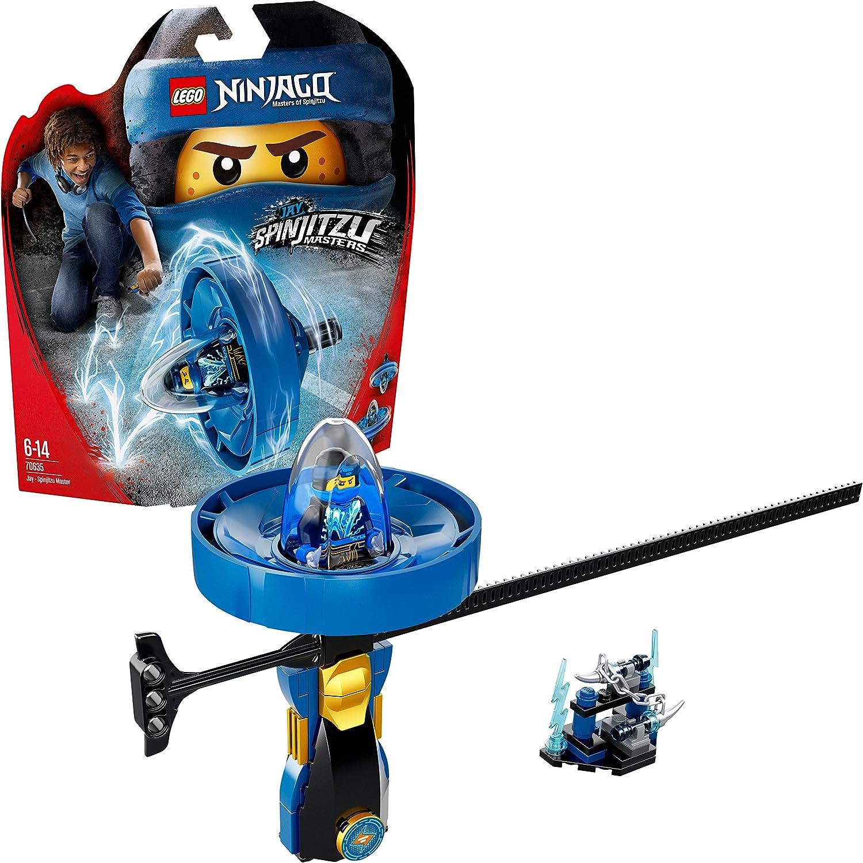 LEGO- Ninjago Jay: Maestro del Spinjitzu, Color azul (70635)