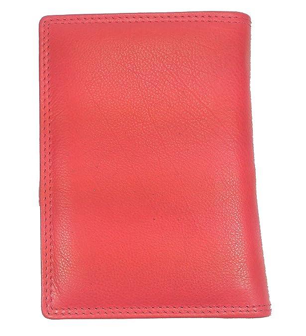 Damen Türkis Leder Brieftasche Portemonnaie Silano: Amazon