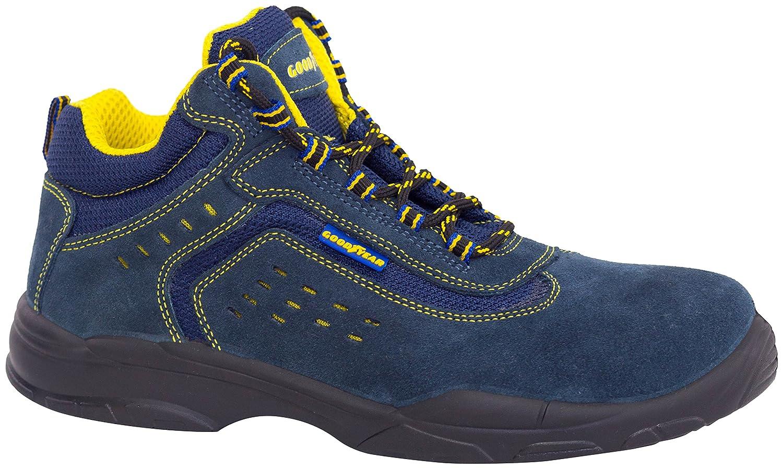 Goodyear g138842 C – Stiefel Leder (Rindsleder) blau, blau, G138842C -