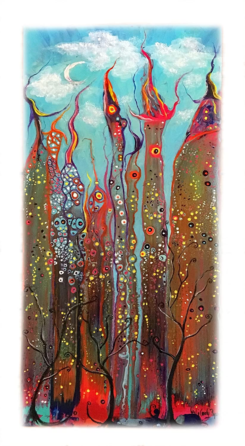 Original Mixed Media Painting on Canvas