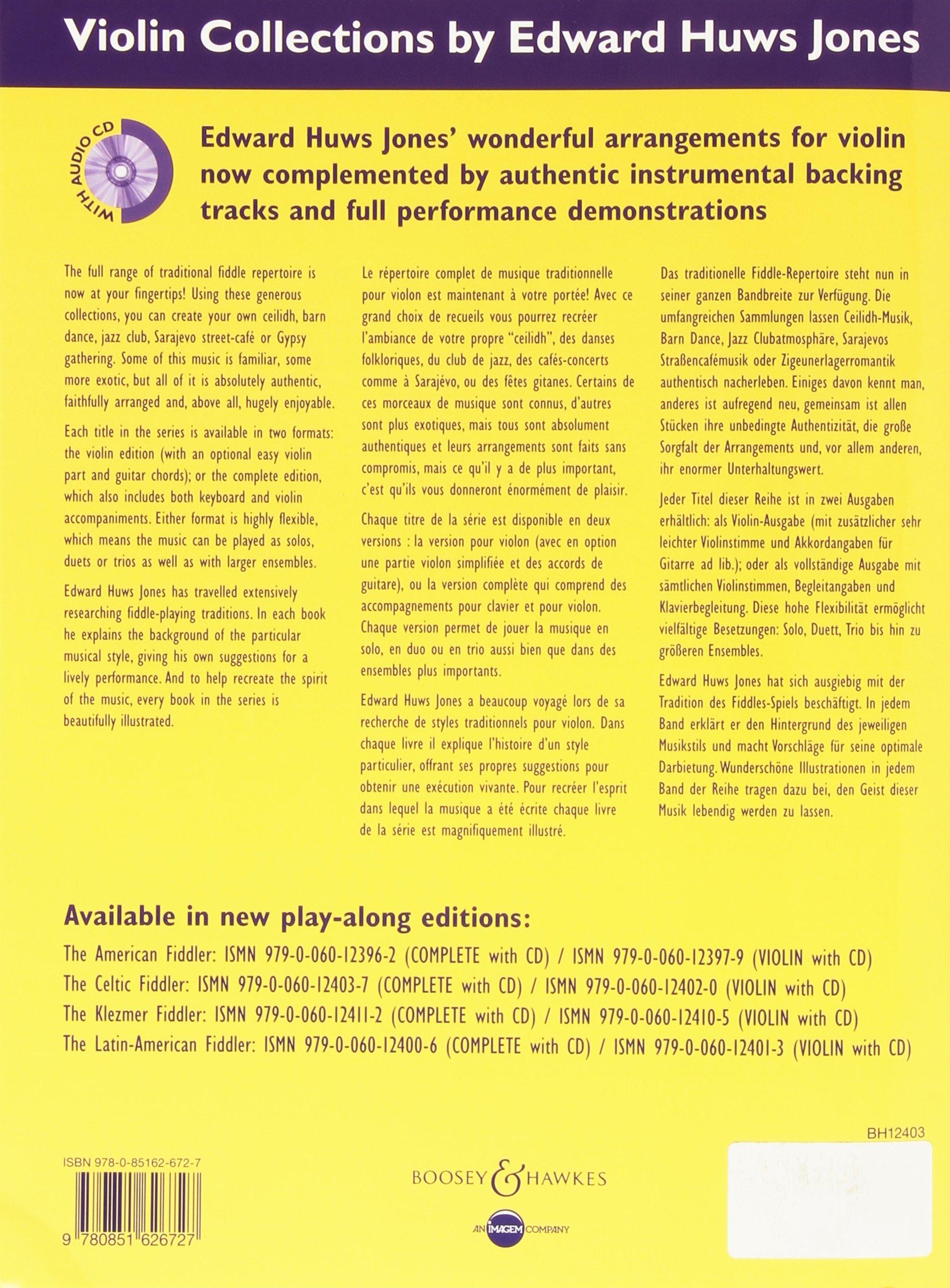 CELTIC FIDDLER Huws Jones VIOLIN CD