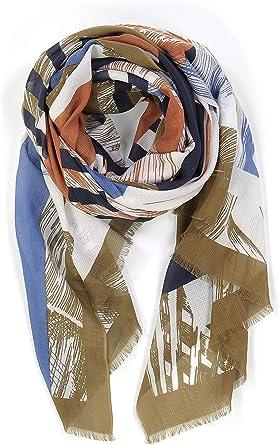 Ma Poesie Kokomo - Pañuelo 100% algodón, 100 x 180 cm: Amazon.es: Ropa y accesorios