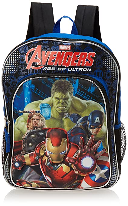 Image Unavailable. Image not available for. Color  Marvel Avengers Age of  Ultron 16 quot  Backpack - 3D Molded Battle Ready Iron Man with 1f5080a2a127c