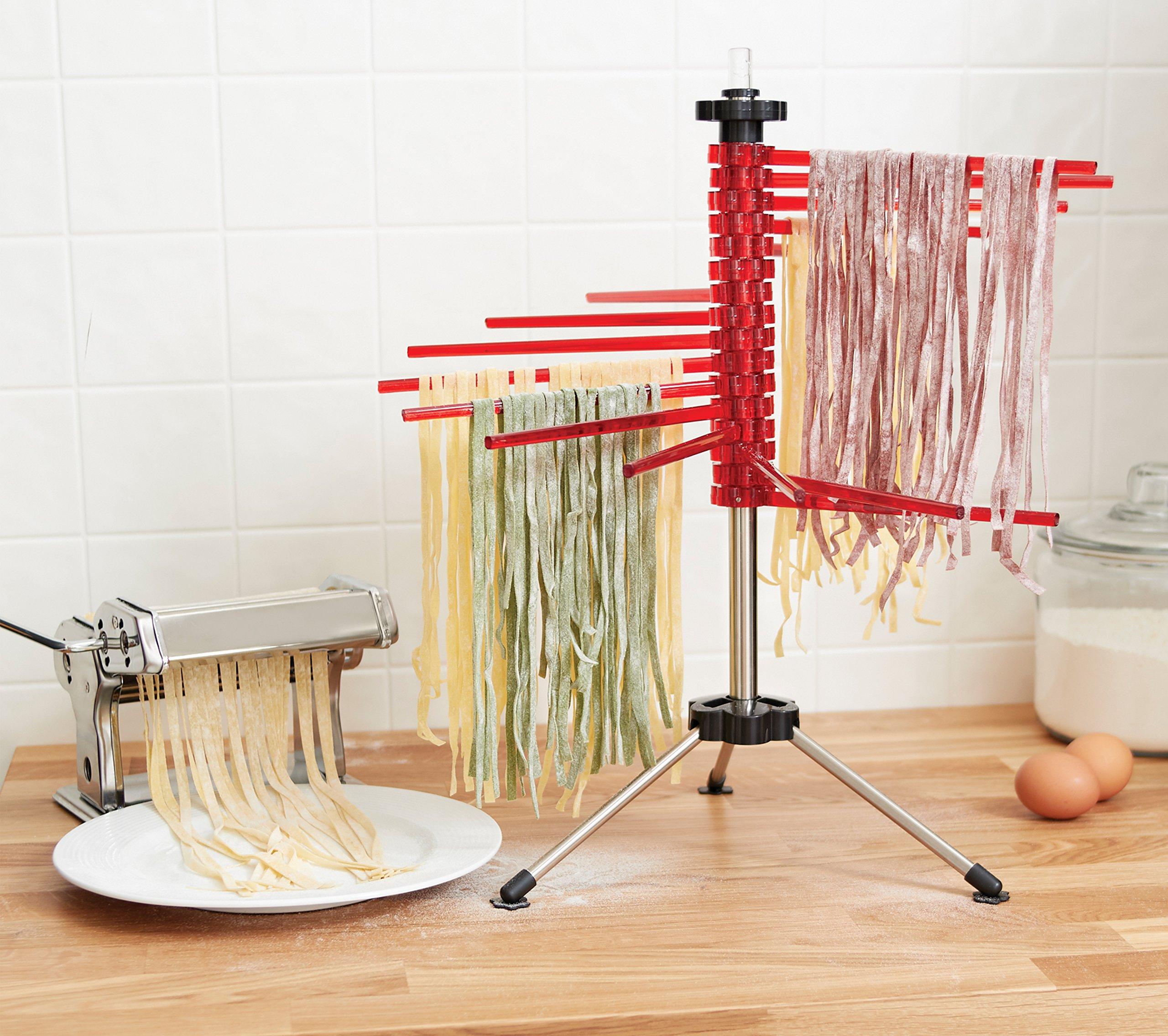 Fox Run 11654 Pasta Drying Rack, 18.5'', Red by Fox Run (Image #5)