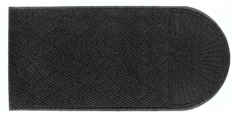 Charcoal Andersen 273 Waterhog Grand Classic Polypropylene Fiber Single End Entrance Indoor//Outdoor Floor Mat 5.9-Feet Length X 4-Feet Width SBR Rubber Backing 3//8-Inch Thick