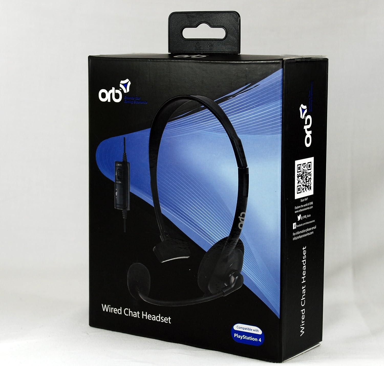 ORB Wired Chat Headset (PS4) [Importación Inglesa]: Amazon.es: Videojuegos