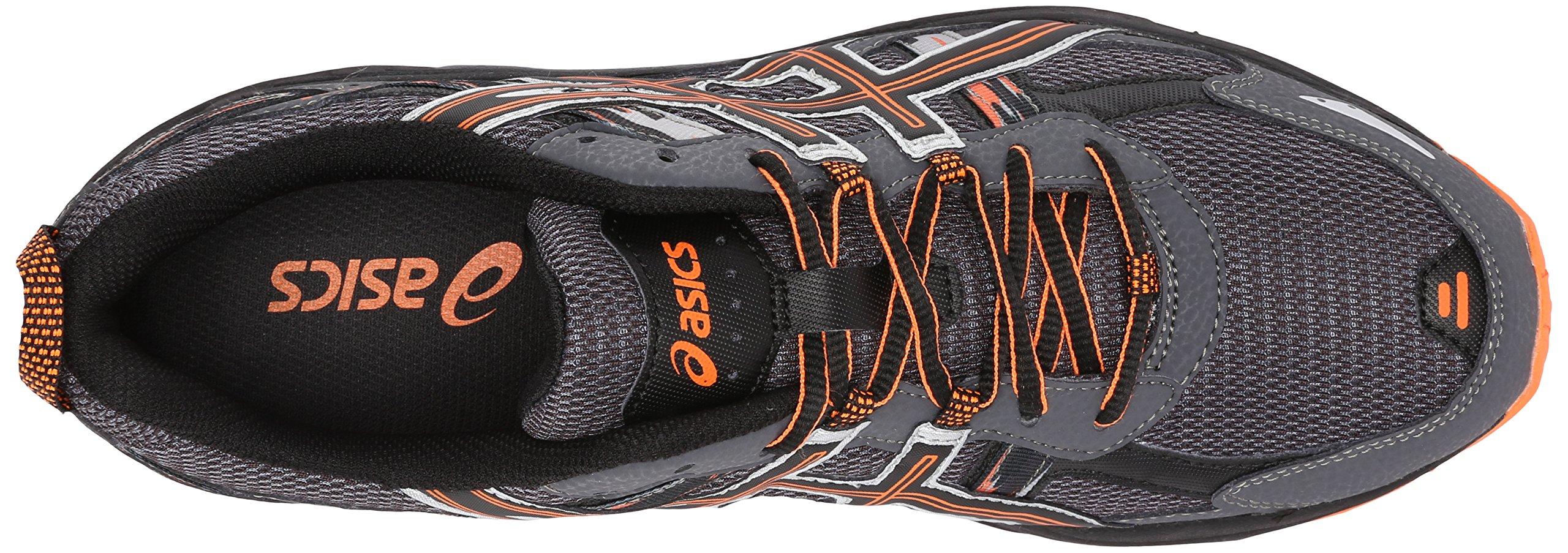 ASICS Men's Gel-Venture 5-M, Carbon/Black/Hot Orange 7.5 M US by ASICS (Image #8)