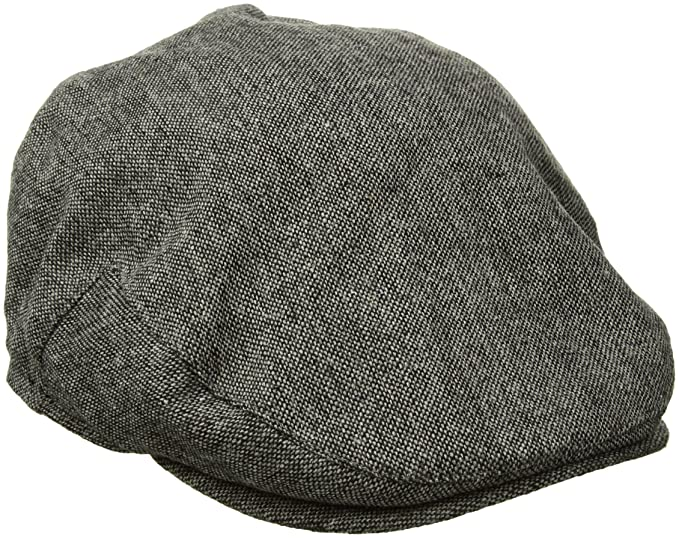 Country Gentleman Men Ainsley Earflap Flat Cap Grey Tweed L at ... b4c8a89a6b12