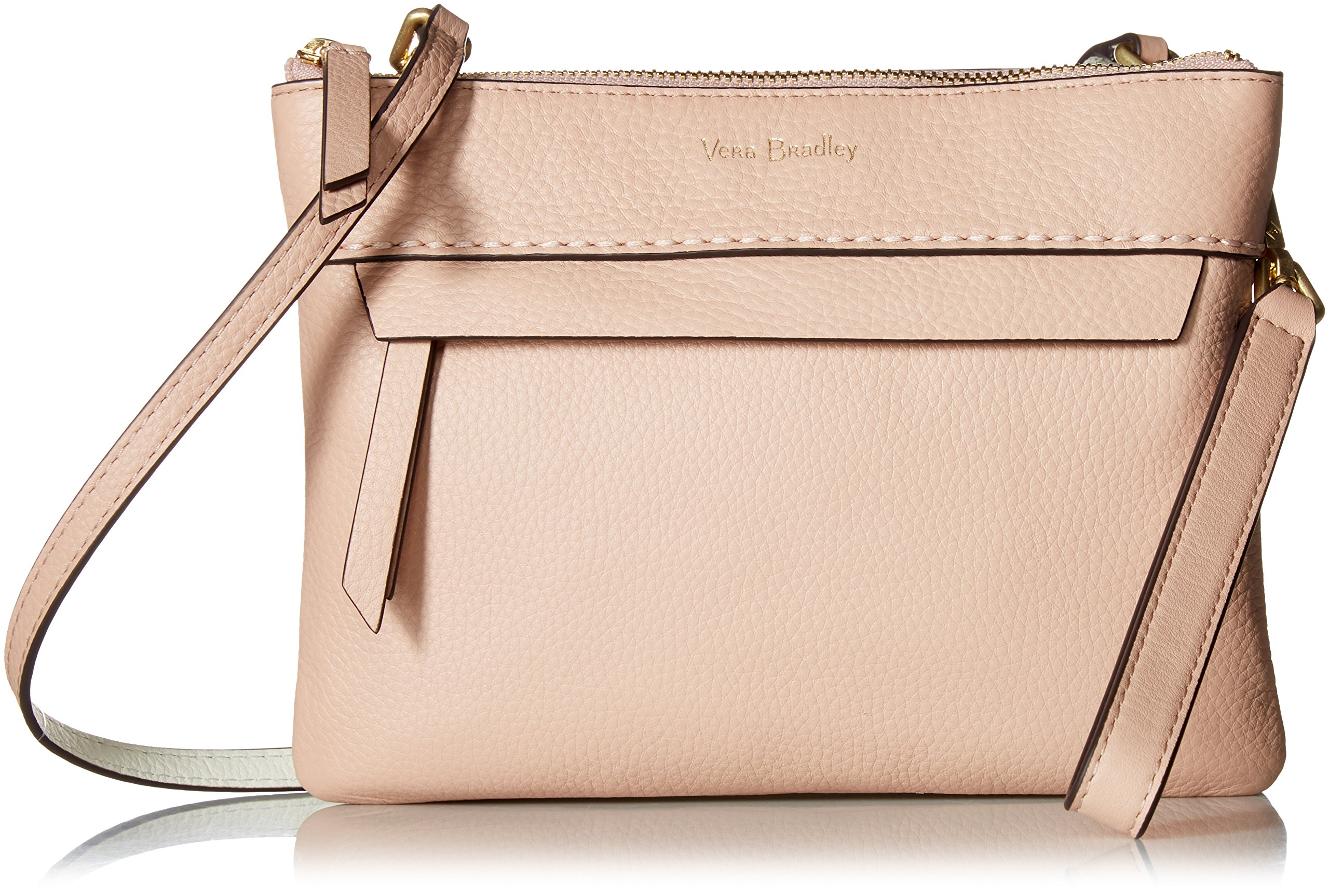 Vera Bradley Mallory RFID Custom Crossbody, Leather