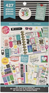 Me /& My Big Ideas Create 365 Happy Planner Sticker Value Pack-Quotes