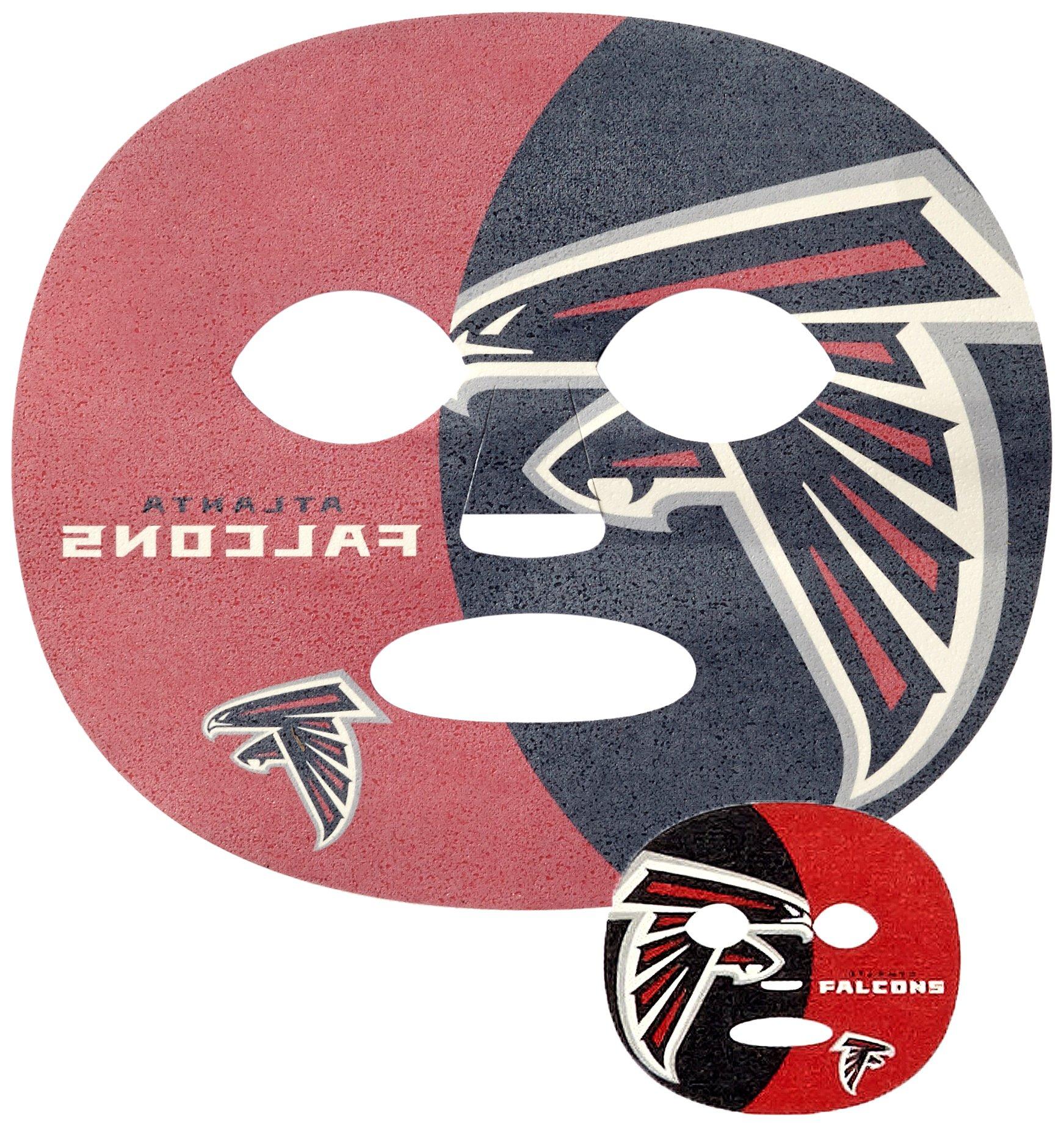 Siskiyou NFL Atlanta Falcons Game Day Face Temporary Tattoo