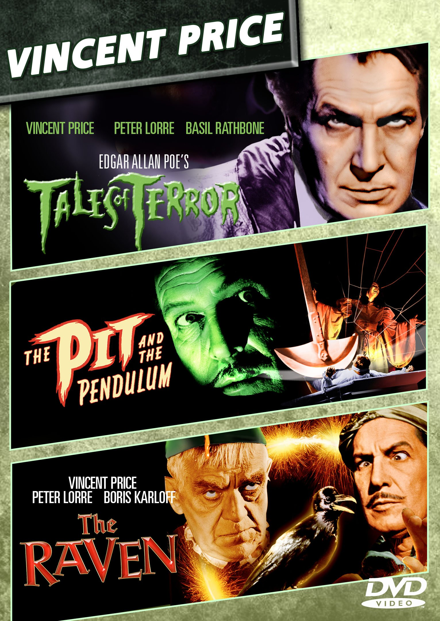 The Raven / The Pit and the Pendulum / Tales of