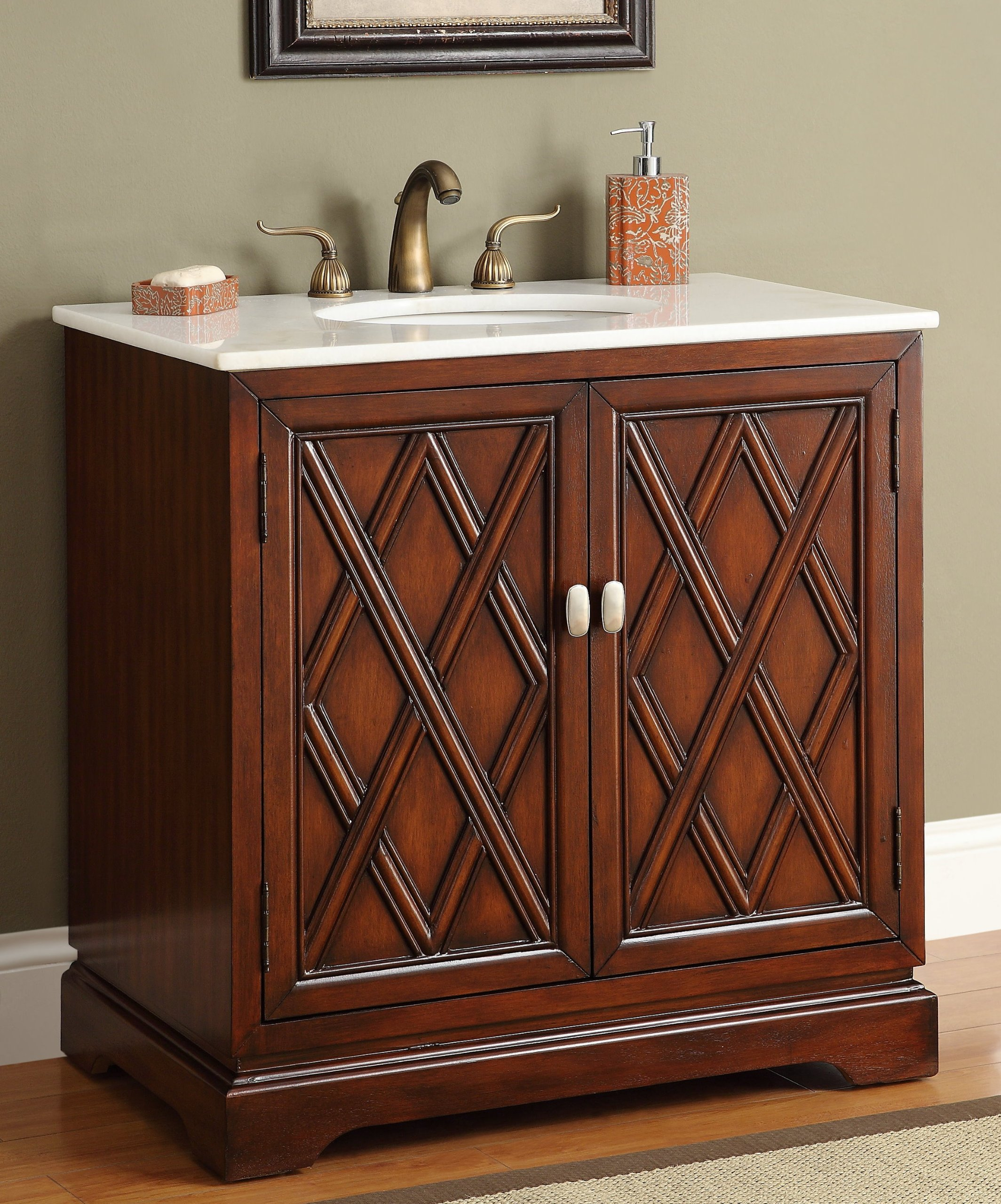 "34"" Refine Woodwork Aengus Bathroom Sink Vanity Model – CF12068"