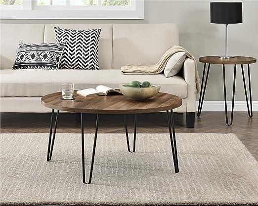 #1. Ameriwood Home Owen Retro Coffee Table